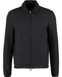 TK Maxx Black Textured Harrington Jacket