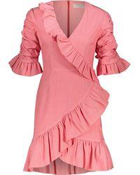 TK Maxx Ruffled Faithful Mini Dress - Pink