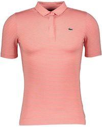 TK Maxx Striped Polo Shirt - Pink