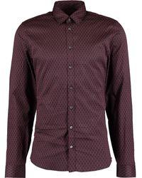 TK Maxx & Purple Geometric Shirt - Blue