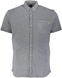 TK Maxx Light Pique Shirt - Grey