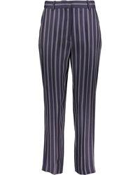 TK Maxx Striped Trousers - Blue