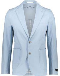 TK Maxx Dusty Brushed Blazer - Blue