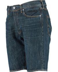 TK Maxx Indigo Denim 501 Snoot Shorts - Blue