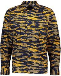 TK Maxx & Orange Camouflage Shacket - Blue