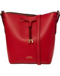 TK Maxx Leather Cross Body Bag - Red