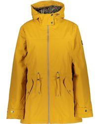 TK Maxx Hooded Brigid Coat - Yellow