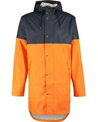 TK Maxx Orange & Rain Jacket - Blue