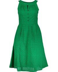 TK Maxx Broderie Anglaise Esme Dress - Green