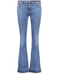 TK Maxx Indigo 70s Flared Leg Jeans - Blue