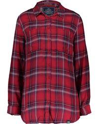 TK Maxx Red & Tartan Shirt - Blue