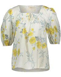 TK Maxx Floral Blouse - Yellow