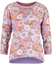 TK Maxx Floral Long Sleeve Top - Purple