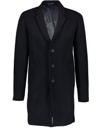 TK Maxx Longline Moulder Coat - Blue