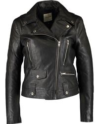 TK Maxx Leather Jacket - Black