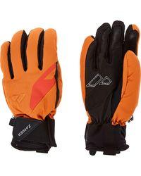 TK Maxx & Black Ski Gloves - Orange
