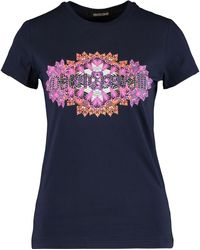 TK Maxx Graphic Logo T Shirt - Blue