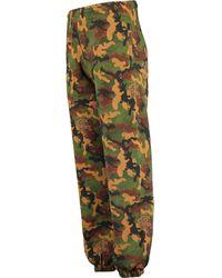 TK Maxx Woodland Camouflage Joggers - Green