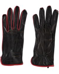 TK Maxx Leather Gloves - Black