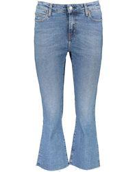 TK Maxx Crop Flare Jeans - Blue