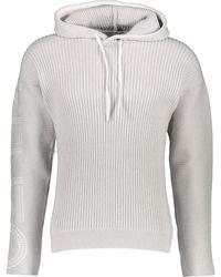TK Maxx Knitted Cardigan Hoodie - Grey
