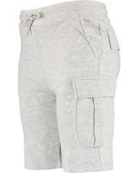 TK Maxx Heather Cargo Shorts - Grey