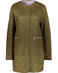 TK Maxx Quilted Heart Jacket - Green