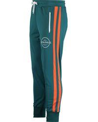 TK Maxx Green & Striped Joggers - Orange