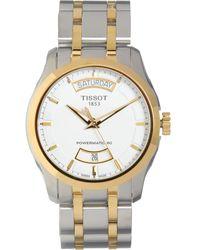 TK Maxx Silver & Tone Couturier Automatic Watch - Metallic