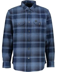 TK Maxx Check Relaxed Fit Shirt - Blue