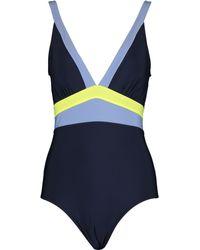TK Maxx Stripe Swimsuit - Blue