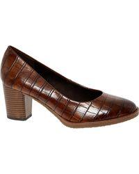 TK Maxx Croc Heels - Black