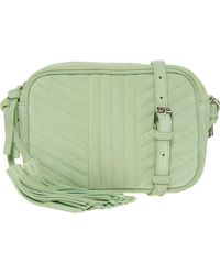 TK Maxx - Suede Quilted Cross Body Bag - Lyst