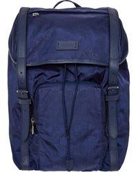 TK Maxx All Over Logo Backpack - Blue