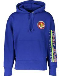 TK Maxx Sailing Logo Hoodie - Blue