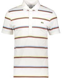 TK Maxx Striped Polo Shirt - White