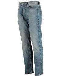 TK Maxx Chestnut Slim Straight Slater Jeans - Blue