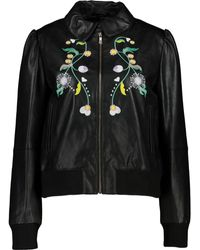 TK Maxx Black Floral Embroidered Jacket