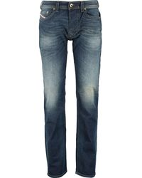 TK Maxx Dark Denim Washed Larkee Straight Jeans - Blue