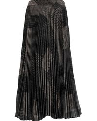 TK Maxx Pleated Maxi Skirt - Black