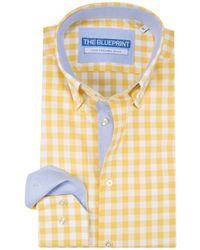 The BLUEPRINT Trendy Overhemd - Geel