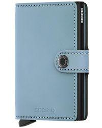 Secrid Miniwallet Matte - Blauw