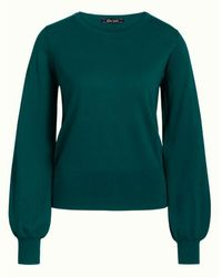 King Louie Pullover 05105 Bell Cottonclub - Groen
