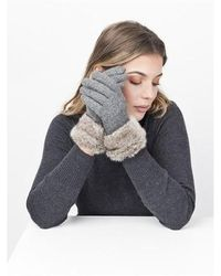 Pia Rossini Monroe Glove Handschoenen - Grijs