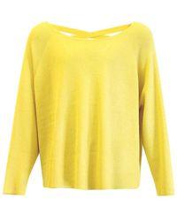 Aaiko Valencia Vis Sweater - Metallic