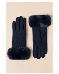 Pia Rossini Charlie (one Size) Handschoenen - Blauw