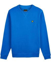 Lyle & Scott Crew Neck Sweatshirt - Blauw