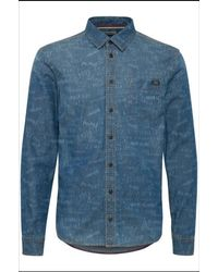 Blend Overhemd - Blauw