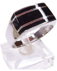 Atelier Christian Zilveren Ring Met Onyx - Meerkleurig