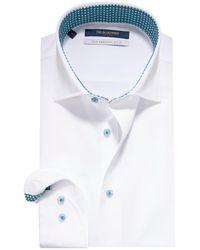 The BLUEPRINT Trendy Overhemd Met Lange Mouwen - Wit